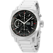 Oris BC4 Chronograph Automatic 42.7 mm Men's Watch 67476164154MB