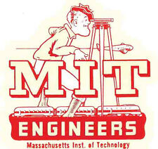 MIT  College - University      Vintage-Looking   Travel Decal  Sticker