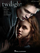 TWILIGHT MUSIC FROM THE MOTION PICTURE SONG BOOK PIANO VOCALS GUITAR PVG