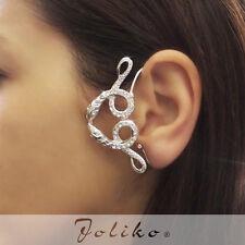 JoliKo Ohrklemme Ohrschmuck Ear cuff Schlange Cristal Snakes Wicca Magie RECHTS