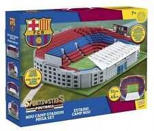 Character Building Sports Stars Barcelona's Football Nou Camp Stadium Mega Se...