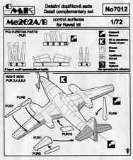 CMK CZECH MASTER'S KITS 7012 - Me262A/B CONTROL SURFACE - 1/72 RESIN KIT