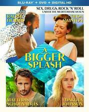 A BIGGER SPLASH (Blu-ray/DVD, 2016, 2-Disc Set)