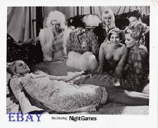 Busty sexy Babes Night Games VINTAGE Photo directed by Mai Zetterling