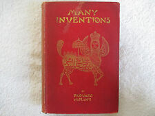 1893 MANY INVENTIONS by Rudyard Kipling D. Appleton and Co. hardcover  FN