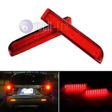 Red Lens LED Bumper Reflectors For Mitsubishi Lancer Evo Taillight Brake Lights