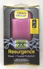OtterBox Resurgence iPhone 5 / 5S Power Battery Case Satin Rose Pink OEM