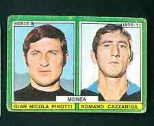 Figurina Calciatori Edis 1970-71! Pinotti/Cazzaniga! Monza!!