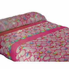 PEPPA PIG set bed 3 pezzi Pink and fuchsia with pattern cotton