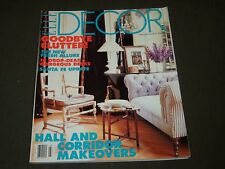 1996 FEB/MAR ELLE DECOR MAGAZINE - HOME DESIGNS - ART - ROOM MAKEOVER - O 7103