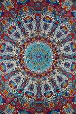 "3D Glow In The Dark Tapestry ""Sunburst"" 60 x 90  - FREE PRIORITY MAIL"