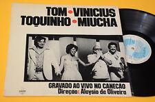 TOQUINHO VINICIUS..LP GRAVADO AO VIVO NO CANECAO ORIG BRASILE 1987 EX !