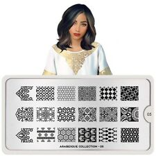 MoYou London Nail Stamping Plate Arabesque Collection 05 US Stock SALE