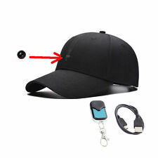 New 1080P Spy HD Hidden Camera Hat Covert Video Recorder Wireless Control