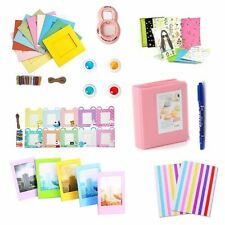 8 in 1 Instant Camera Accessories Bundles Set for Fujifilm Instax Mini 8 Pink