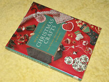 CHRISTMAS CRAFTS over 50 ideas for every room in the house Myra Davidson HB 1994