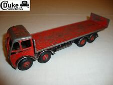 DINKY 503 FODEN FLAT TRUCK WITH TAILBOARD - PLAYWORN - 1ST ISSUE