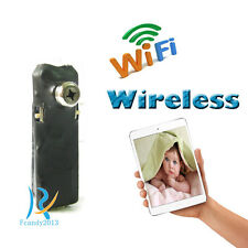 32G wireless spy IP WIFI mini DIY pinhole hidden dvr small micro camera recorder