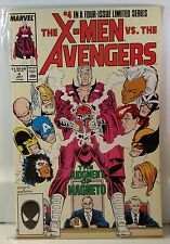 The X-Men vs. The Avengers #4 (Jul 1987, Marvel) VF COMIC BOOK