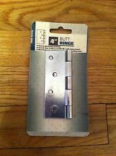 "Harbor Freight Tools 4"" Butt Hinge new Item 95558 Electro Galvanized Material"