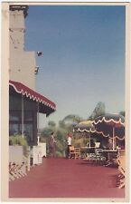 "Del Mar CA ""Del Mar Turf Club Patio"" Postcard California *FREE U.S. Shipping*"