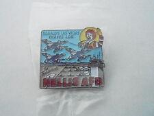 NOS Vintage McDonalds Advertising Enamel Pin #20 - NELLIS AIR FORCE BASE