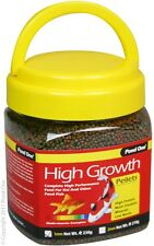 Pond One P1-26530 High Growth Pellets 1mm 230g Bottle for Pond Fish