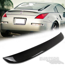 """READY TO SHIP"" Carbon FOR 350 Z33 Fairlady Z Coupe OE Rear Trunk Spoiler Wing"