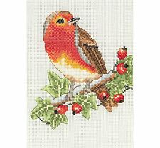 Anchor Starters-Cross Stitch Kit-Red Robin-AK125