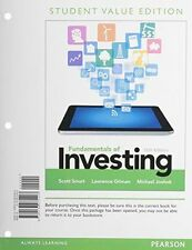 Fundamentals of Investing, Student Value Edition by Michael D. Joehnk, Scott...