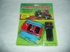 Vintage MOC New Power Tracks Generic Rite Aid Remote Control Car Knock Off Toy