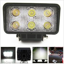 18W 6-LED Offroad Truck SUV Rectangular White Light Working Spot Lamp For Subaru