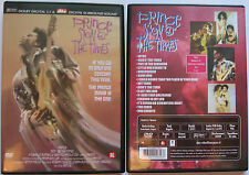 PRINCE SIGN O THE TIMES REGION 2 PAL DUTCH DTS DVD *RARE*