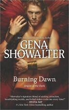 Burning Dawn-Gena Showalter-2014 Angels of the Dark series #3-combined shipping