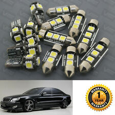 17xError Free Car Interior LED Lights Kit For Mercedes Benz S-Class W220 99-2005