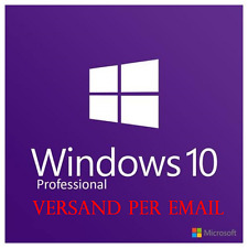 Microsoft Windows 10 Pro OEM 32bit/64bit Key Lizenz VOLLVERSION