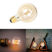 New Vintage Retro Edison E26 40W Screw LED Filament Light Bulb ST64 Globe Lamp