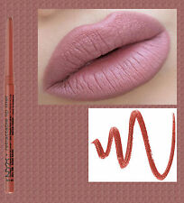 NYX TWIST UP LIP LINER PENCIL~ SAND BEIGE ~ DEEP BEIGE NUDE ~ WATERPROOF