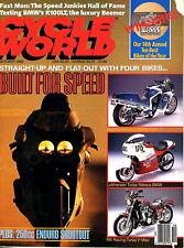 Cycle World OCT 1989 Motorcycle BMW