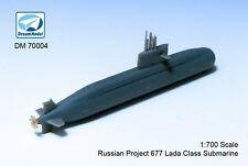 Dreammodel DM70004 1/700 Russia Navy's Project 677 Lada-class Submarine model+PE