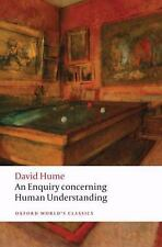 Oxford World's Classics: An Enquiry Concerning Human Understanding by David...