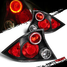 2001 2002 2003 Honda Civic 2DR Coupe Altezza Style Black Brake tail lights Pair