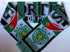 Sporting Portugal Fútbol Bufandas nuevo de hilos de acrílico superior