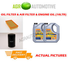 PETROL OIL AIR FILTER KIT + LL 5W30 OIL FOR JAGUAR S-TYPE 3.0 238 BHP 1998-08