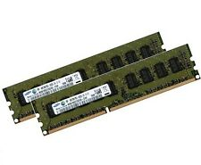2x 4gb 8gb ddr3 1333 MHz ECC UDIMM unbuffered m391b5273ch0-ch9 pc3-10600e DIMM