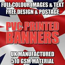 6FT X 2FT PVC VINYL BANNER SIGN FOR OUTDOOR ADVERTISING - FREE DESIGN