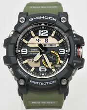 New Casio GG1000-1A3 G-Shock Mudmaster Twin Sensor Ana-Digital Men's Watch