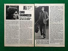 CC124/125 Clipping Ritaglio (1974) - CIRO DAMMICCO