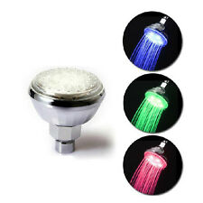 7 Colors Changing Romantic LED Shower Head Water Glow Light Automatic