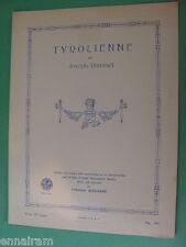 Tyrolienne 1916 Joseph Rummel Art Publication Society #344